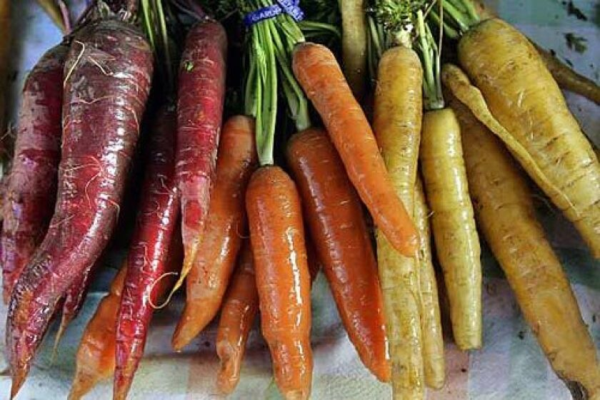 Today, you can find carrots in a surprising assortment of colors.