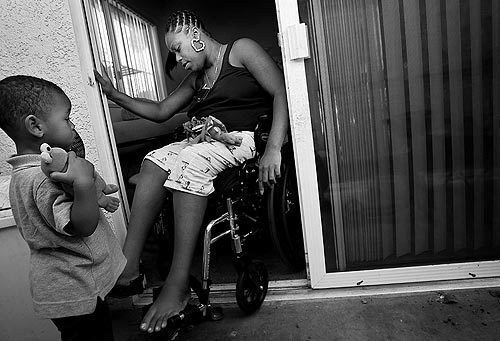 Paralyzed by gang shooting