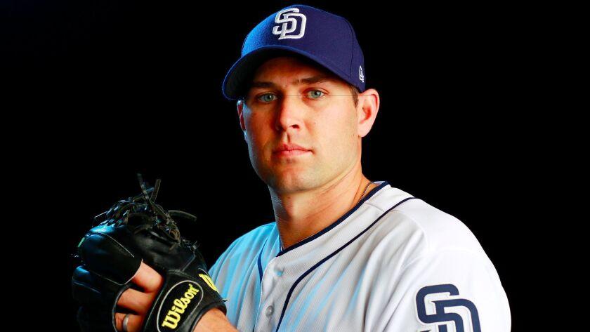 San Diego Padres pitcher Craig Stammen. (Photo by K.C. Alfred/The San Diego Union-Tribune)