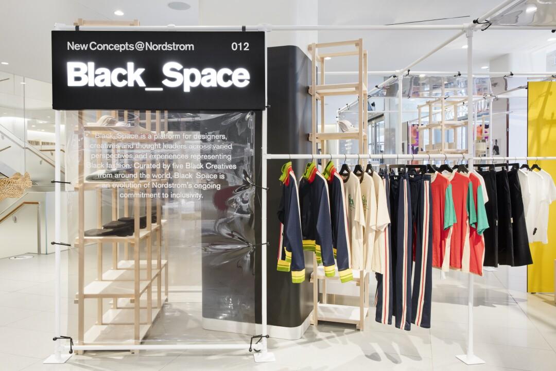New Concepts @ Nordstrom pop-up, Concept 012 Black_Space