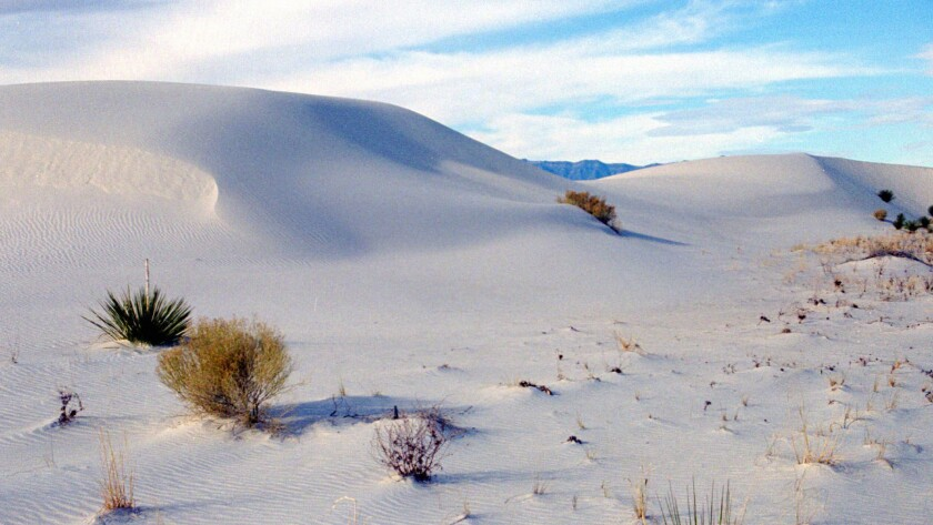 "British writer Geoff Dyer goes west in ""White Sands."""