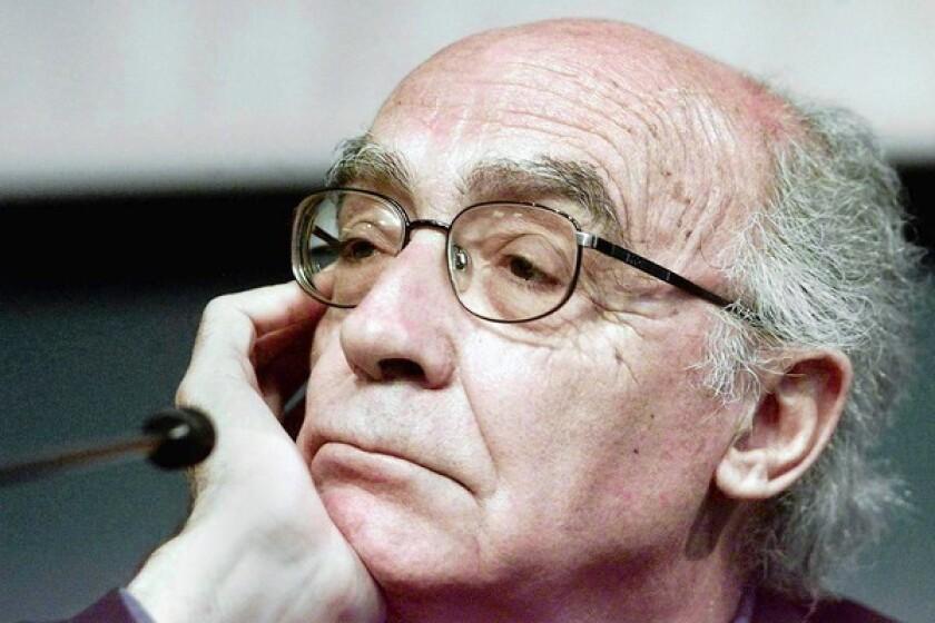 Portuguese writer Jose Saramago.