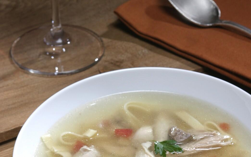 Wheat harvester's soup (minestra di bata il grana)