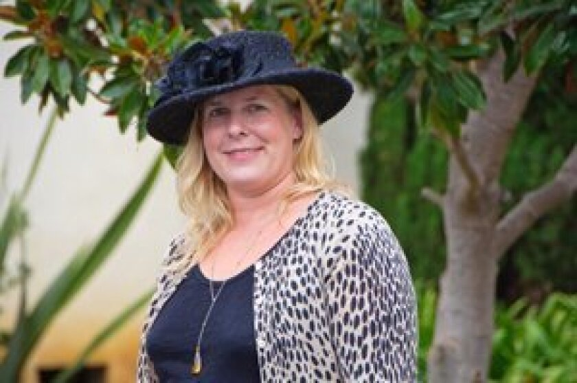 Jill Courtemanche will open Jill Courtemanche Millinery on Nov. 8 in Solana Beach.