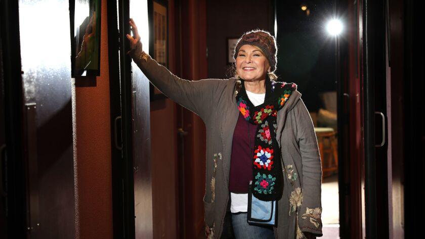 EL SEGUNDO-CA-MARCH 22, 2018: Roseanne Barr is photographed in El Segundo on Thursday, March 22, 201