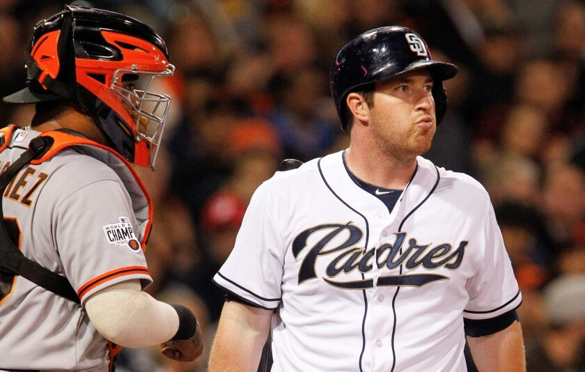 How long do the Padres stick with second baseman Jedd Gyorko?