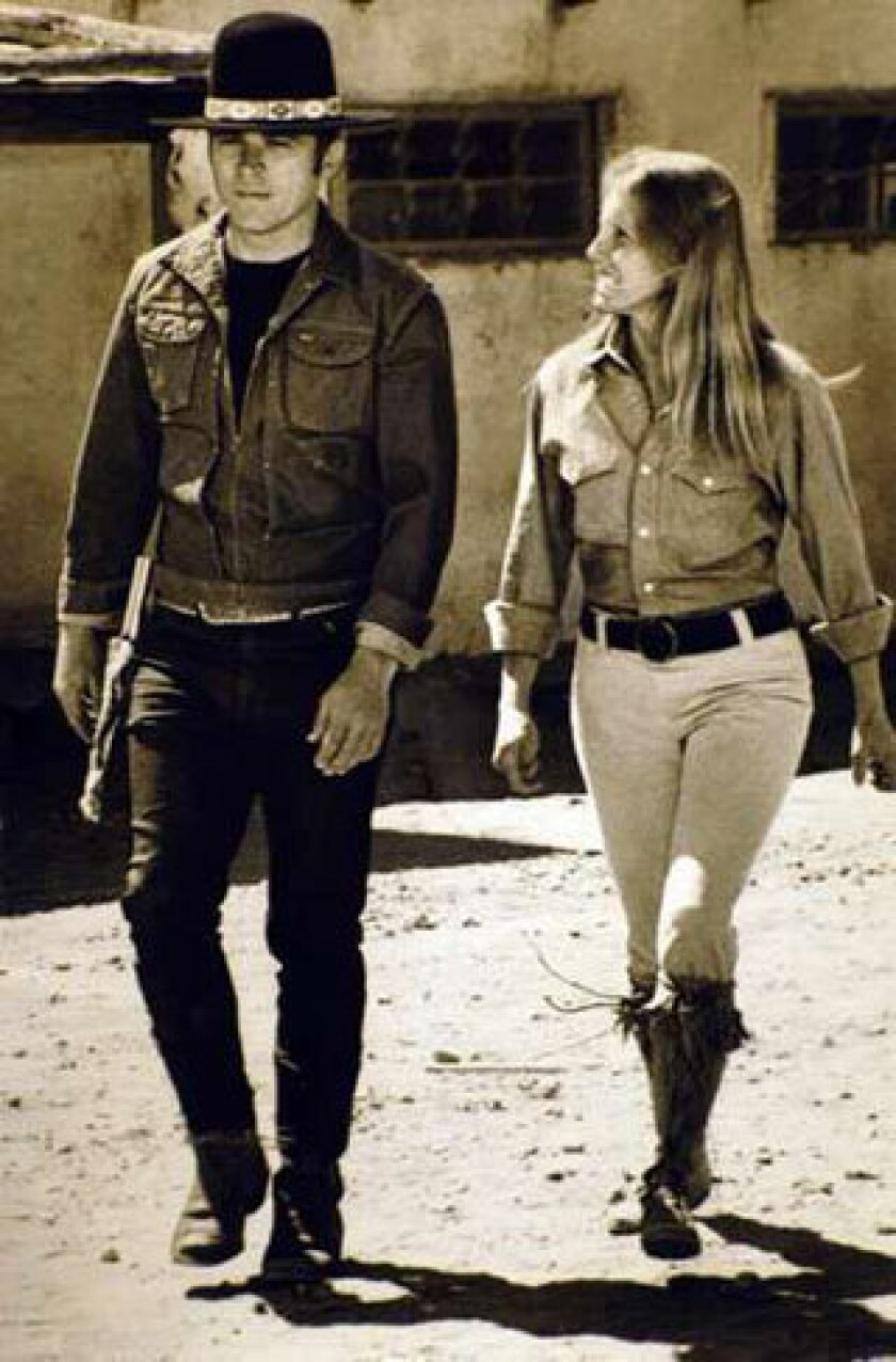"""Tom Laughlin and Delores Taylor in """"Billy Jack"""""""