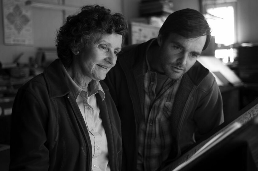 """Angela McEwan, who appeared in the 2013 acclaimed film """"Nebraska,"""" with Will Forte, died Sunday at the age of 81."""
