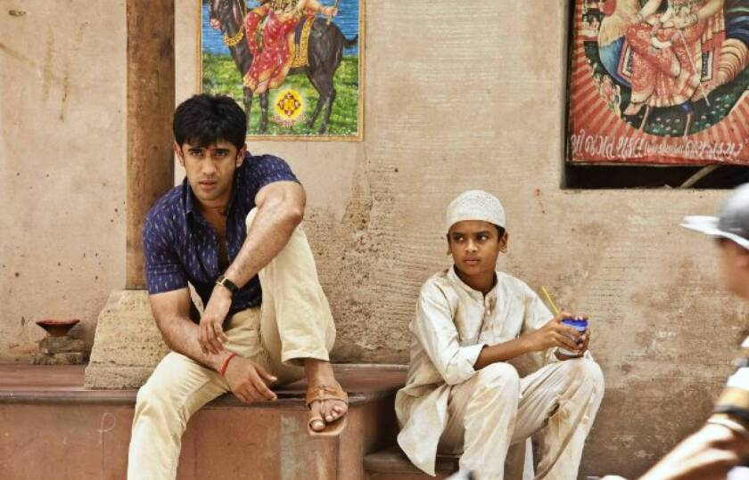 """In """"Kai Po Che,"""" Amit Sadh, left, is one of three pals who open a sports shop/cricket academy."""