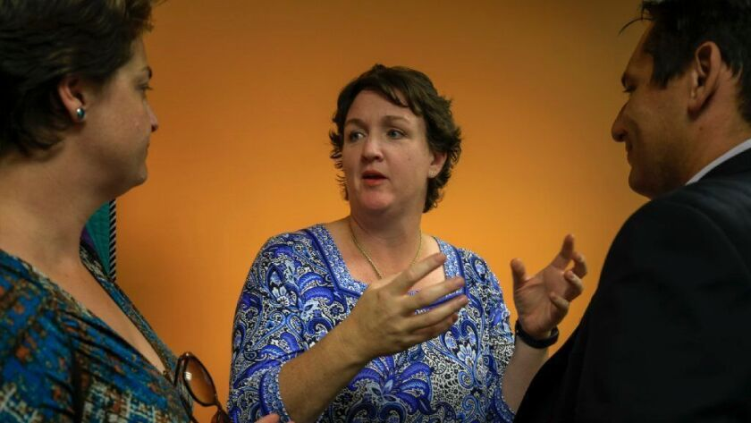 Rep. Katie Porter (D-Irvine) will share her story of a surprise medical bill at a hearing Tuesday.
