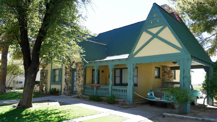 The Goumond House, restored to a 1950's time period, is seen at the Clark County Museum Thursday, Ju