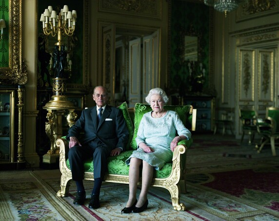 'The Queen and Prince Philip, the Duke of Edinburgh'