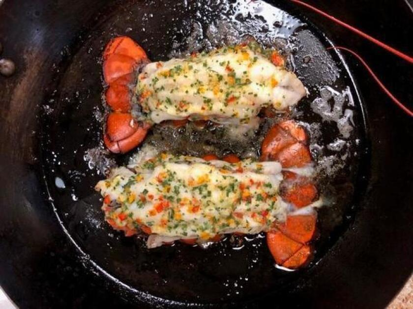 Roasted Lobster Tails