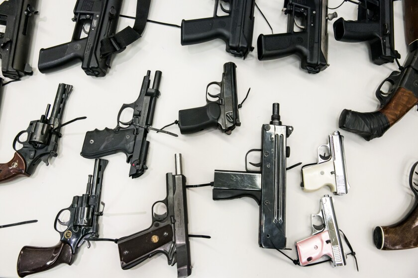 Los Angeles wants to study the sources of guns used in crimes in the city, a good first step toward gathering elusive data necessary to form smart gun policies.