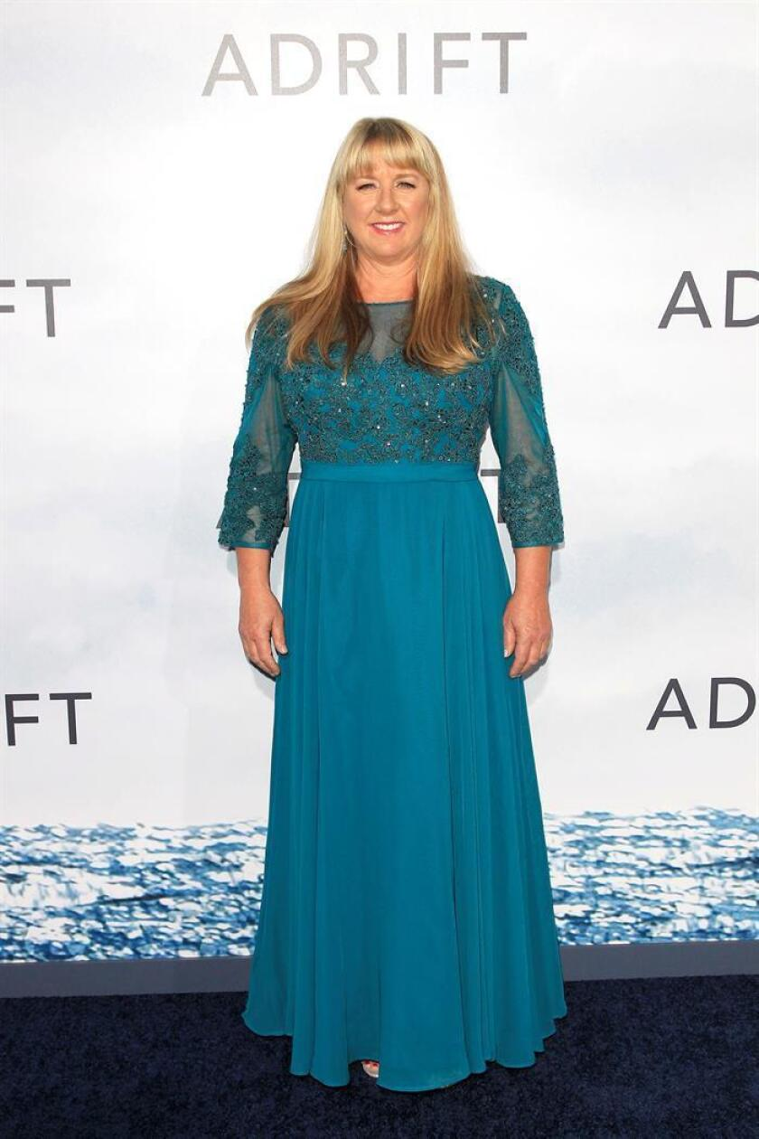 Tami Oldham Ashcraft arrives at the World Premiere of 'Adrift' at the L.A. LIVE Regal Cinemas in Los Angeles, California, USA. EFE/EPA/File