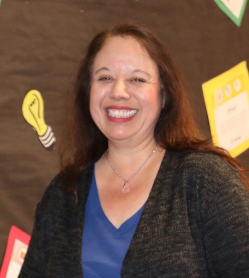 Maria Arroyo, instructional assistant-behavioral specialist at Daly Academy in the Chula Vista Elementary School District, was recently recognized as a State Classified School Employee of the Year.