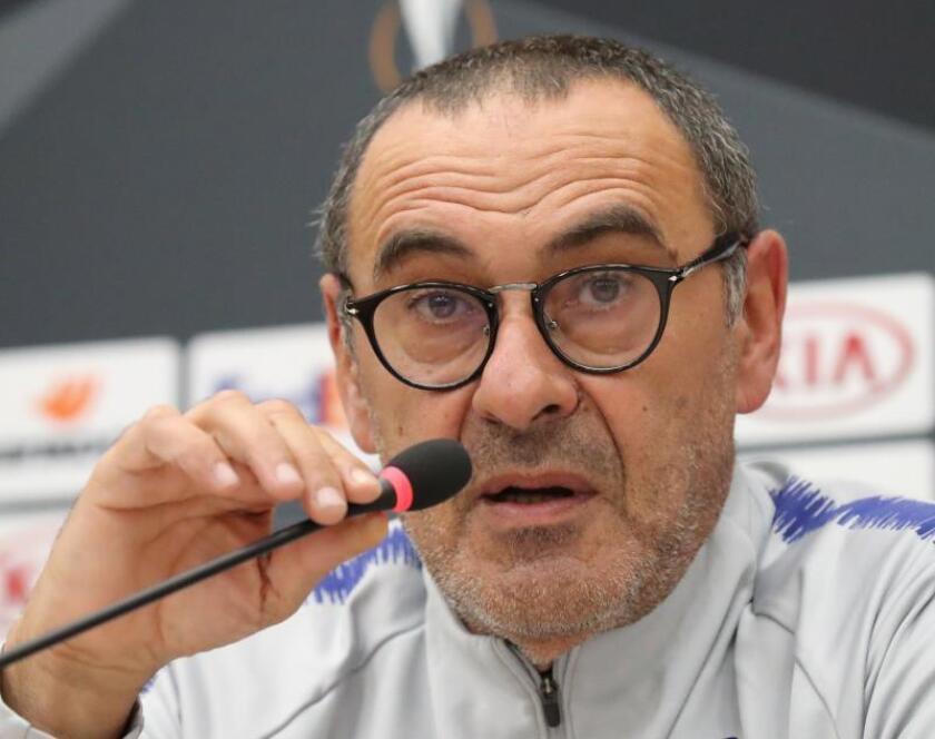 El entrenador italiano del Chelsea, Maurizio Sarri. EFE/Archivo