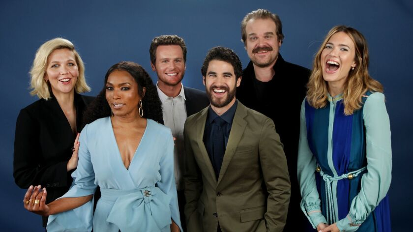 LOS ANGELES, CA., April 7, 2018--The Envelope's annual Emmy Roundtable invites TV Drama actors to ta