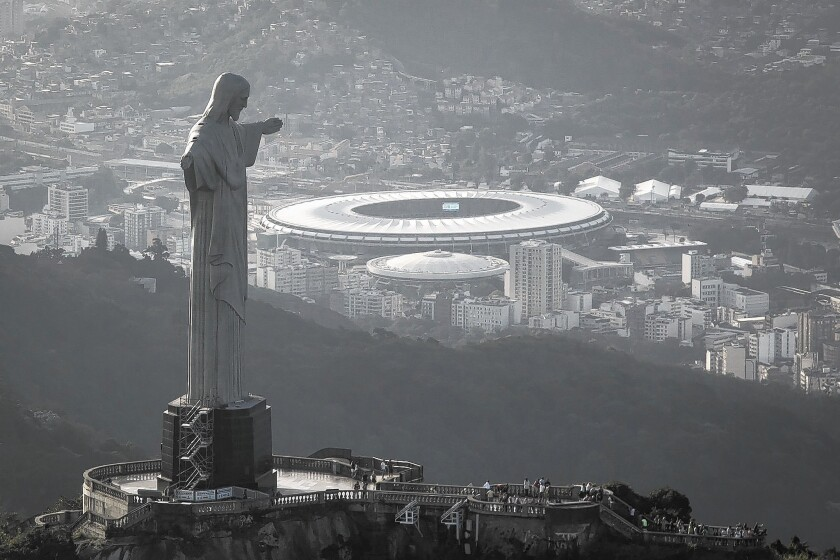 As the World Cup gets underway in Brazil, Bloomberg reports that only half of the projects designed to showcase the country were completed