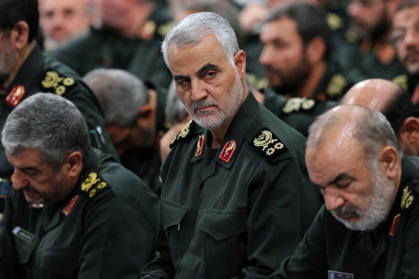 Iranian Gen. Qassem Suleimani in Tehran in September 2018.