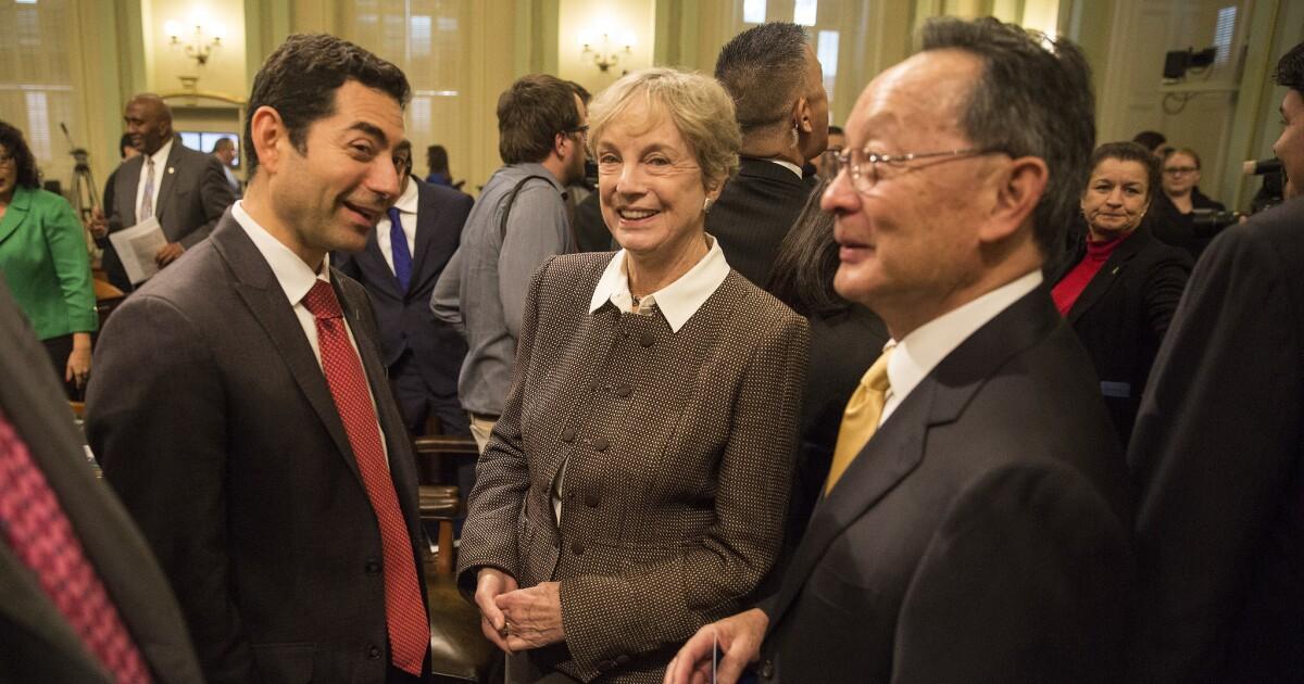 Gerechtigkeit Ming Chin, um in den Ruhestand von der California Supreme Court, zu geben Newsom seinem ersten Termin