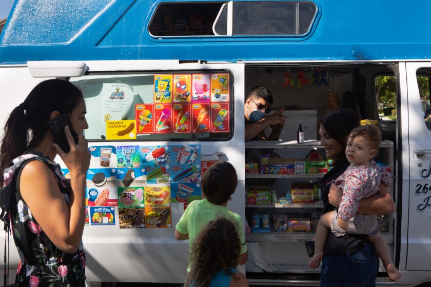 Mr. Frost Ice Cream truck