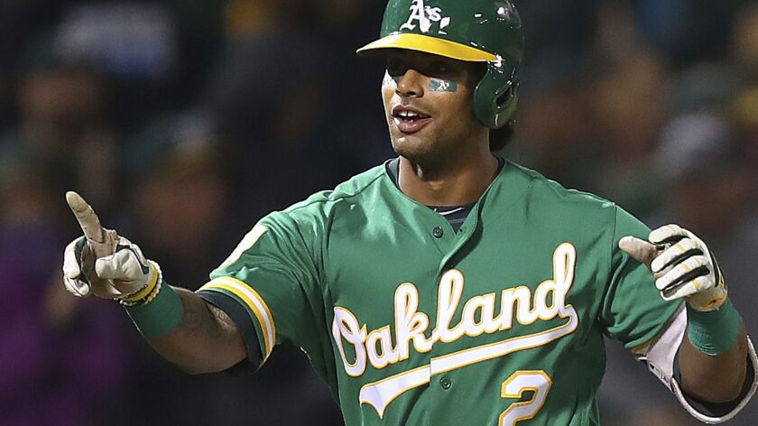 The Athletics' Khris Davis led the Oakland Athletics back to the playoffs for the first time in four years, then received a $6 million raise this offseason for a 2019 salary of $16.5 million.