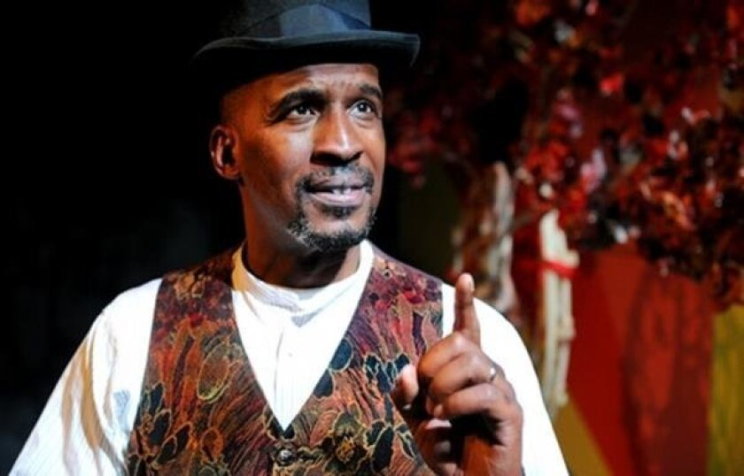 """Phil Darius Wallace wrote and performs in a new play, """"Self Made Man: The Frederick Douglass Story."""" California State University San Marcos is hosting a performance of the play tonight."""