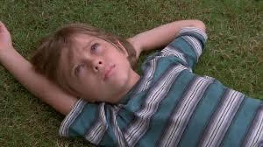 "Ellar Coltrane as a 7-year-old in Richard Linklater's ""Boyhood."""