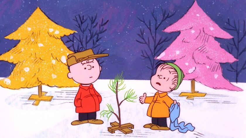 **FILE**In this promotional image provided by ABC TV, Charlie Brown and Linus appear in a scene from