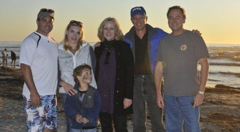 Steven and Violetta Sansone with Rocco, Nancy and Bruce Henderson, John Hansch (Photo: Rob McKenzie)