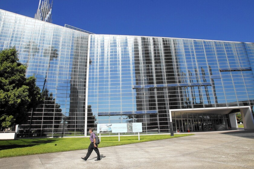The Diocese of Orange is modifying the former Crystal Cathedral, now called Christ Cathedral, to conform with Catholic tradition while also acknowledging its unique design.