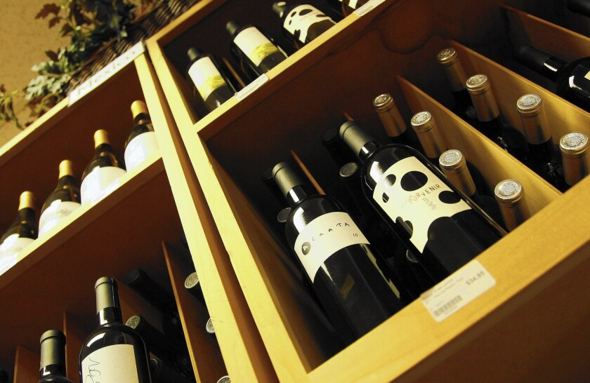 Vintage Wines in San Diego carries many wines from Valle de Guadalupe in Baja's wine country.