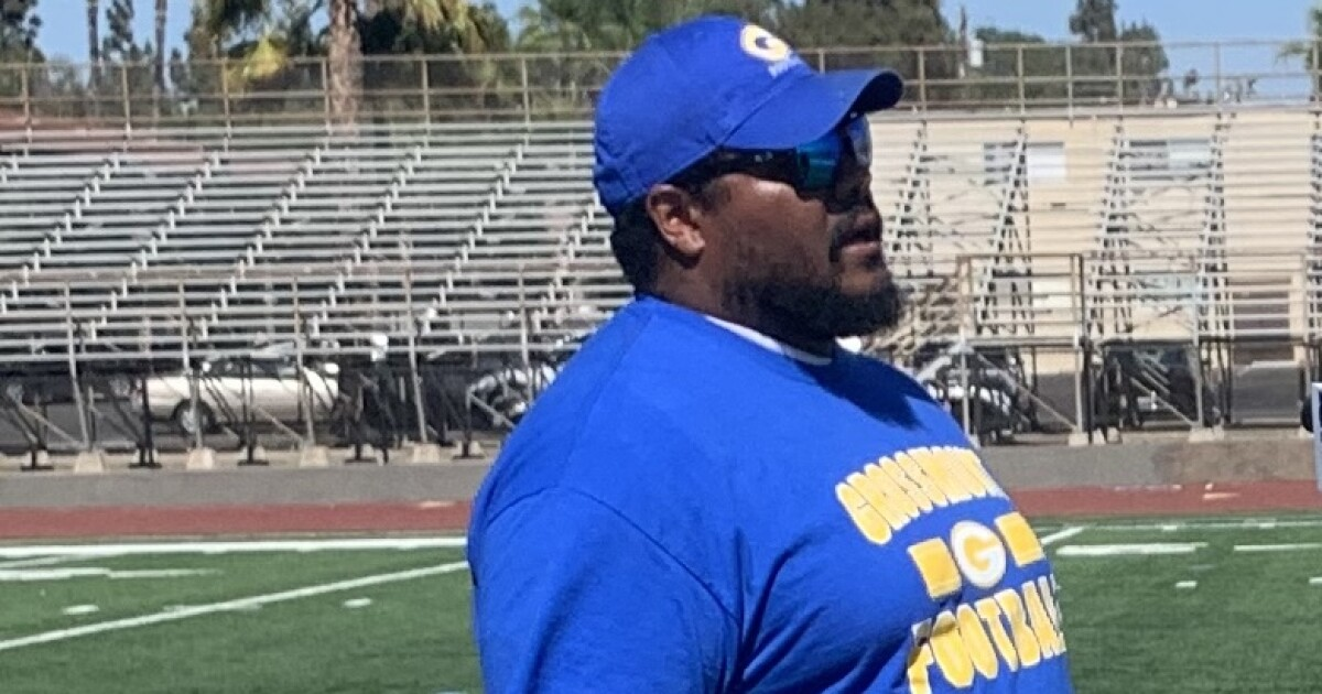 Grossmont High's new football coach is raring to go