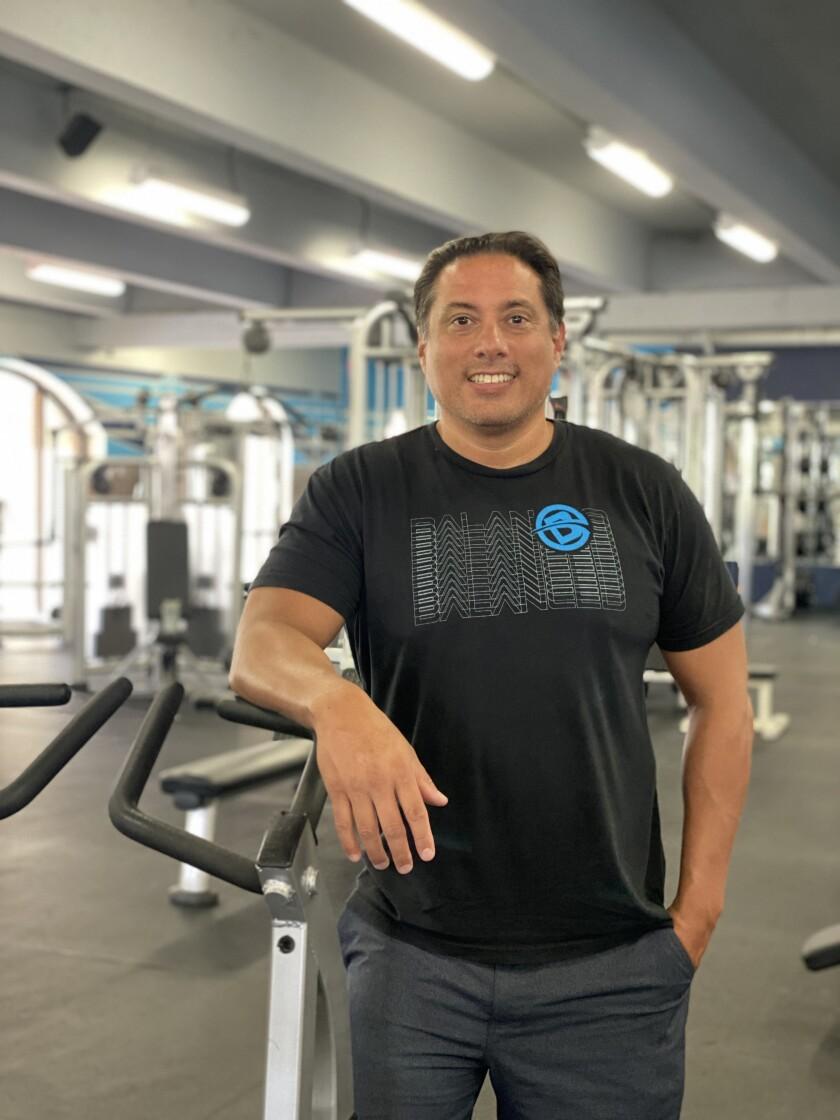 Rodrigo Iglesias says he strives to create an intimate gym experience at Balanced Fitness & Health in La Jolla.