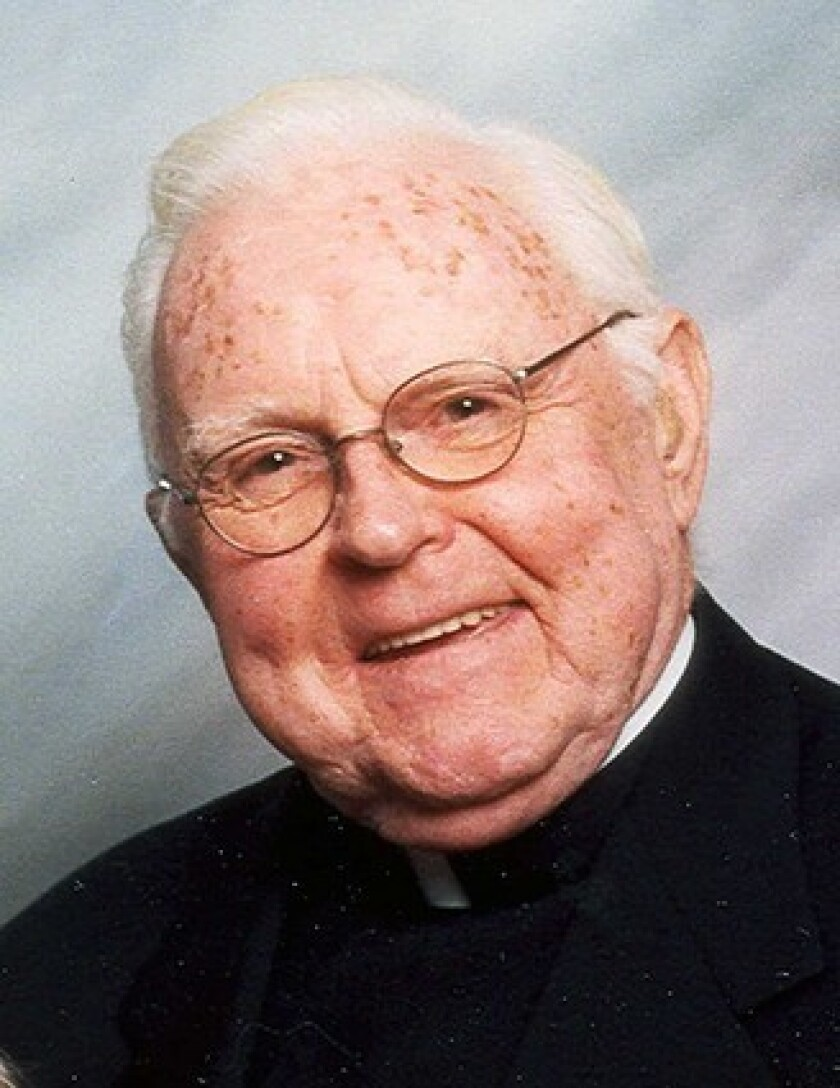 The Rev. Joseph C. Martin was co-founder of Father Martin's Ashley addiction treatment center in Havre de Grace, Md. The center opened in 1983 and has since provided treatment to more than 40,000 people dealing with alcoholism and addiction.