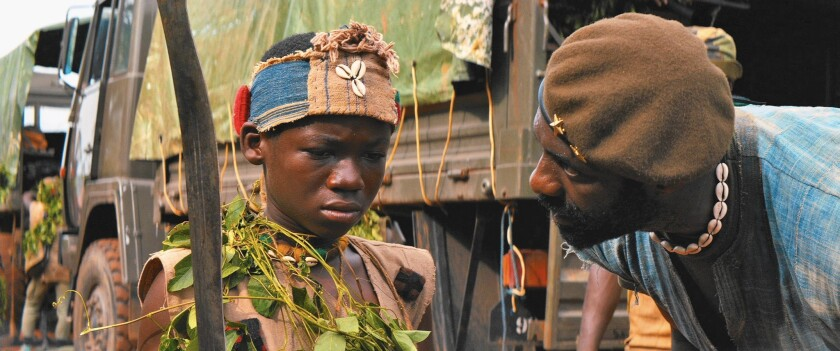 'Beasts of No Nation' first-time teen actor Abraham Attah praised for a brutal role