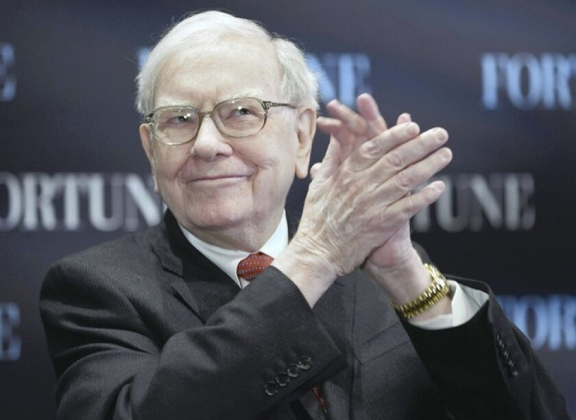 """Warren Buffett, the 82-year-old chief executive of Berkshire Hathaway, has started a Twitter account. His first tweet: """"Warren is in the house."""""""