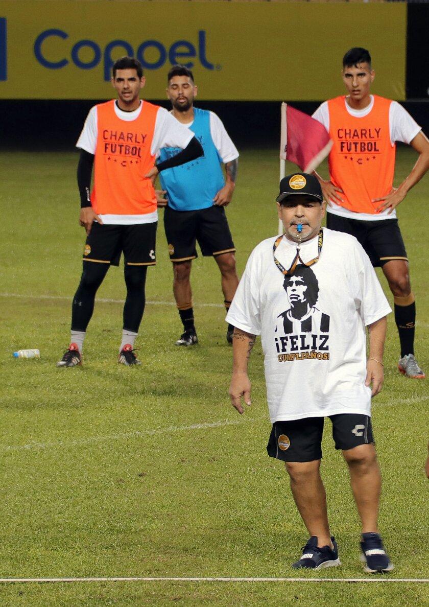 Diego Armando Maradona cumpli? su aniversario 58 en ciudad mexicana de Culiac?n