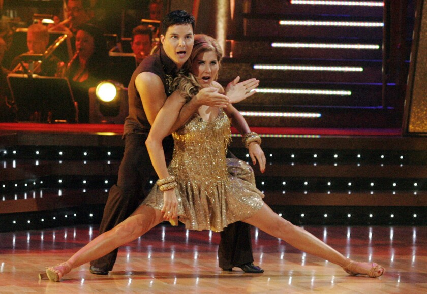 "Could authors compete in a show like ""Dancing With the Stars"" (as Monica Seles with her dance partner Jonathan Roberts did in 2008)?"
