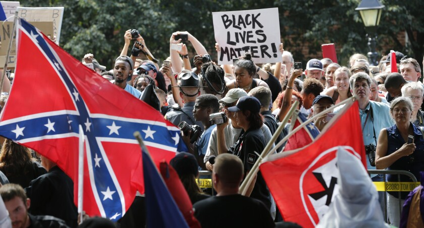 The FBI said Robert Rundo incited riots at demonstrations, including last year's Charlottesville Unite the Right rally.