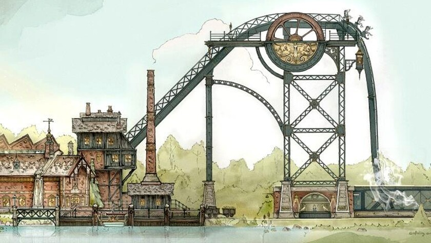 The Baron 1898 dive coaster is coming to Efteling theme park in the Netherlands.