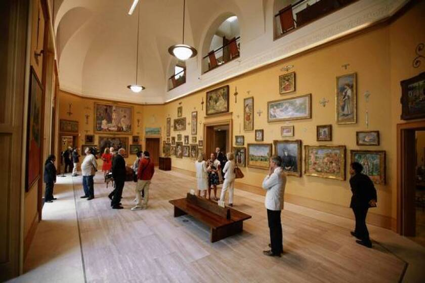 New Barnes Museum Offers Up Its Treasures In Philadelphia Los