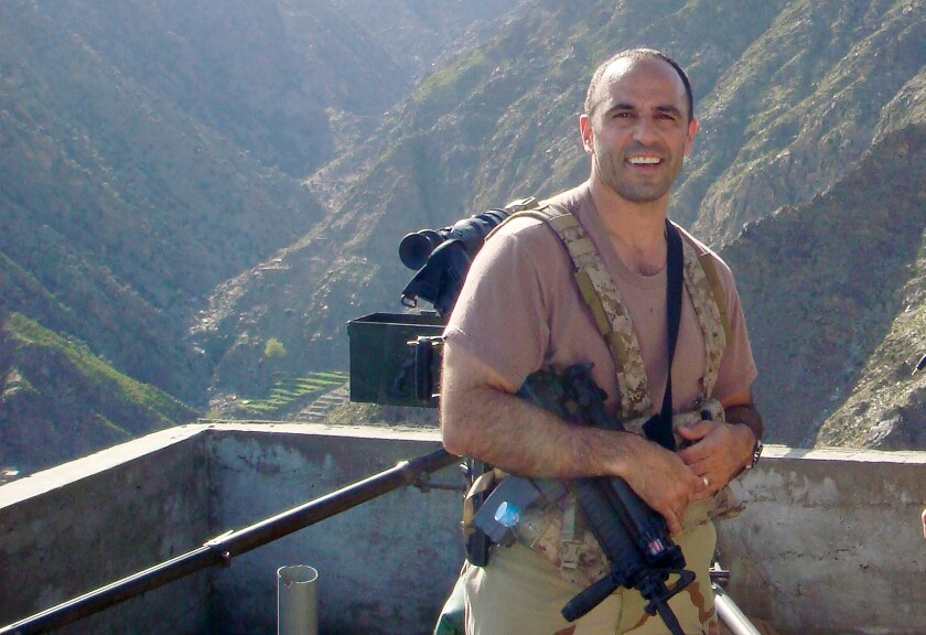 Rep. Jimmy Panetta in Afghanistan
