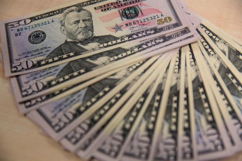 El grupo de equipos industriales Caterpillar anunció hoy que había cerrado 2017 con un beneficio neto de 754 millones de dólares, frente a las pérdidas de 67 millones que tuvo en el ejercicio de 2016. EFE/Archivo