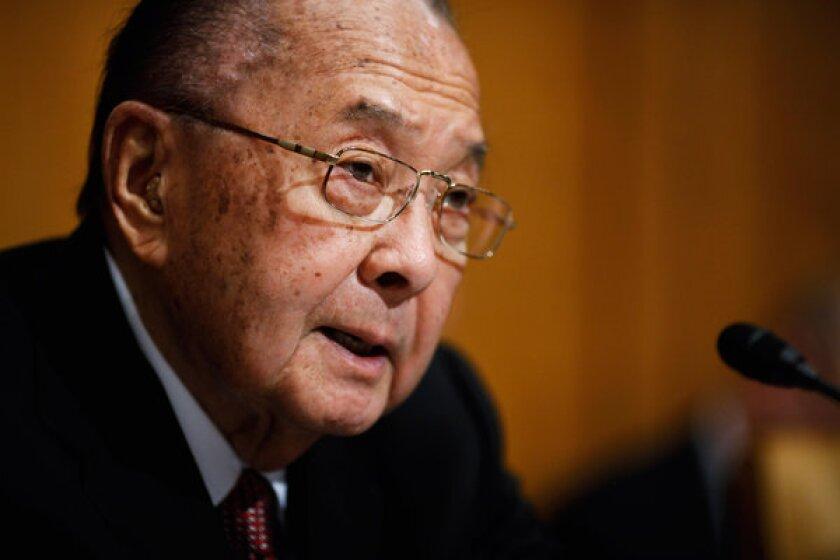 Sen. Daniel Inouye (D-Hawaii) died Monday in Washington.