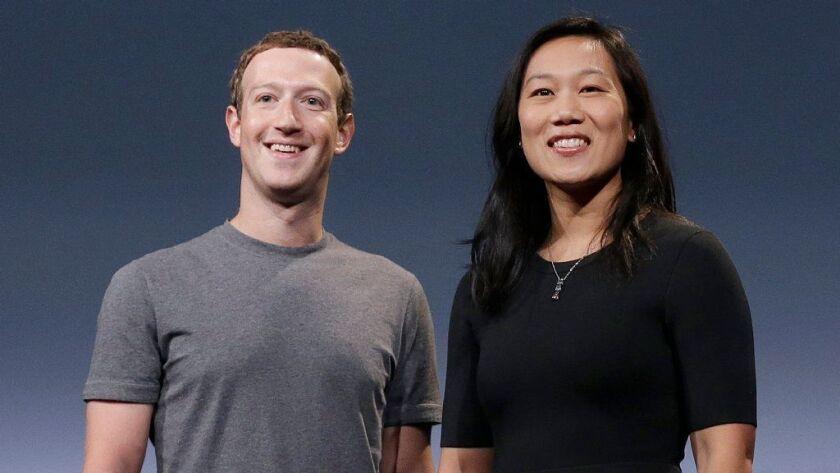 Mark Zuckerberg, Priscilla Chan