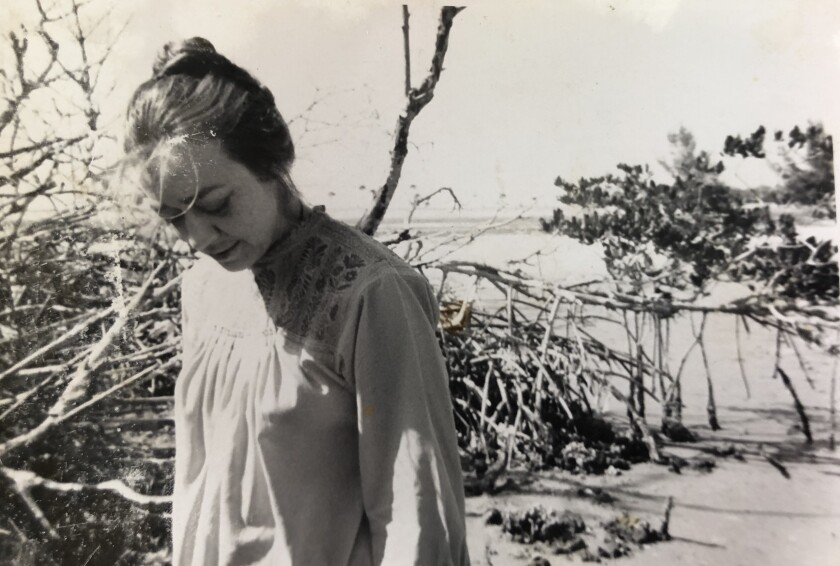Artist Jan Steward in the 1960s