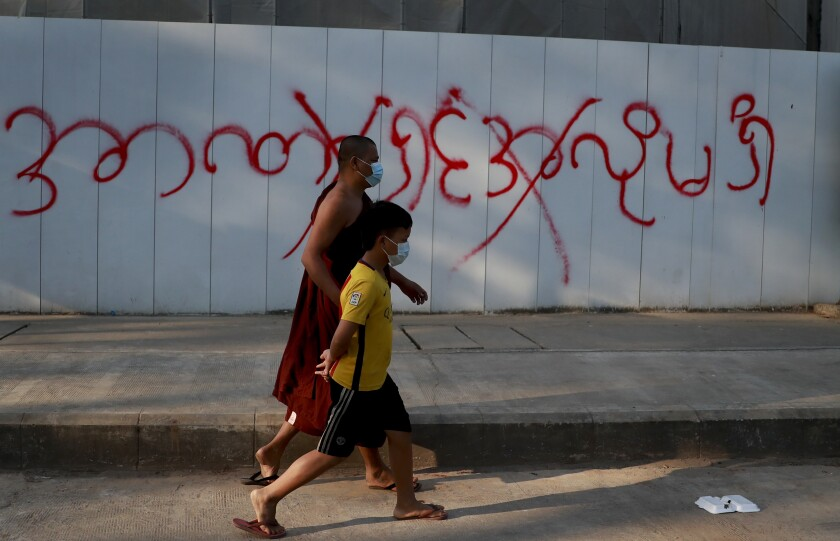 Myanmar's Military Blocks Facebook Blocked Amid Rising Protests Against Coup