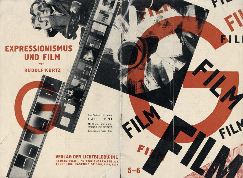 """""""Film."""" Berlin (independently published, 1926). Cover by Paul Leni."""